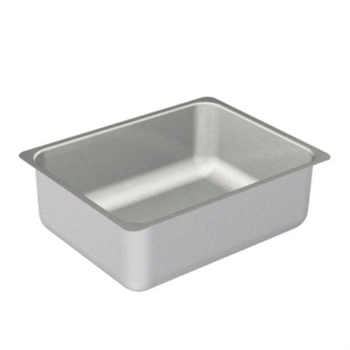 Moen G20193 2000 Series 20 Gauge Single Bowl Undermount Sink, Stainless Steel