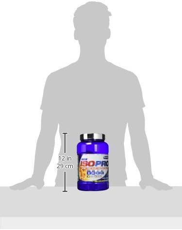 Quamtrax Proteina ISOPRO CFM Sabor Vainilla Biscuit - 907 gr