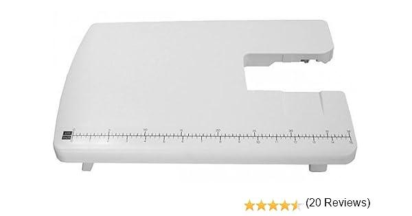 Toyota ET-S - Mesa de ampliación para máquinas de Coser SP y Eco, Color Blanco: Amazon.es: Hogar