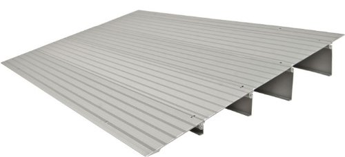 EZ Access TRANSITIONS™ Modular Entry Ramp, 4'' Rise, 22¼''x34'' LxW