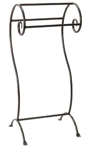 Waterbury Towel (Waterbury Towel Stand-Hand Rubbed Bronze)
