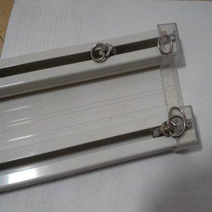Aluminium Track Single Pole double Pole cintrage Mute Slide rail ...