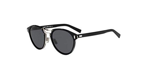 Authentic Christian Dior Homme Black tie 2_0S L 0SUB/IR Black Matte Black Sunglasses