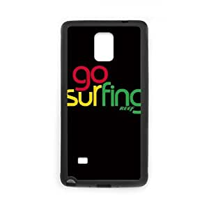 Samsung Galaxy Note 4 Cell Phone Case Black Reef Life Is Too Short L6D2NB