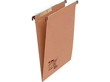 /Box of 25/Hanging Folders Fade 100333060/ Contains: 1 Unit Folio Kraft