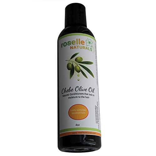 Chebe OLIVE OIL Made with Authentic Chebe Powder From Chad. All Natural Hot Oil Treatment or Leave-In-Conditioner. 4 oz