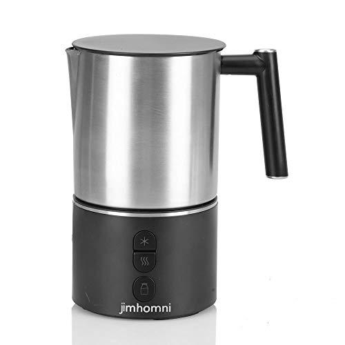 JIMHOMNI Detachable Milk Frother,Eletric Milk Steamer Foam Maker for Latte,Cappuccino,Chocolate,Macciato, BPA free…