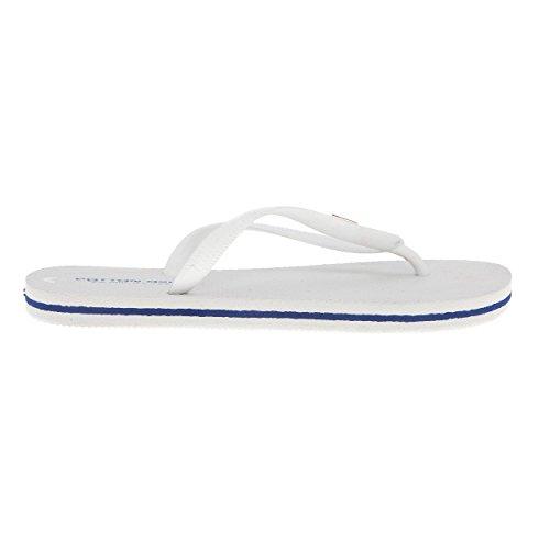 White Cotton Flops Flip Belt Woman wB0Xfqz8
