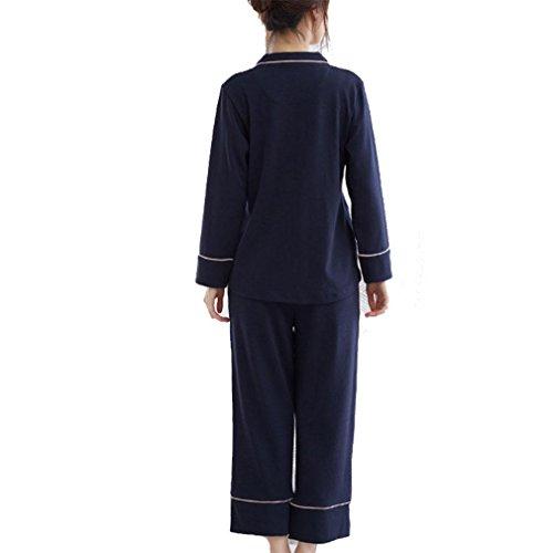 Donna Fashion Pigiama MOXIN Autunno IF xxl lunga manica per Cotone UqxSxIfw7