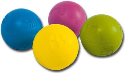 Nayeco Pelota Goma Grabada 5cm 4 Colores: Amazon.es: Productos ...