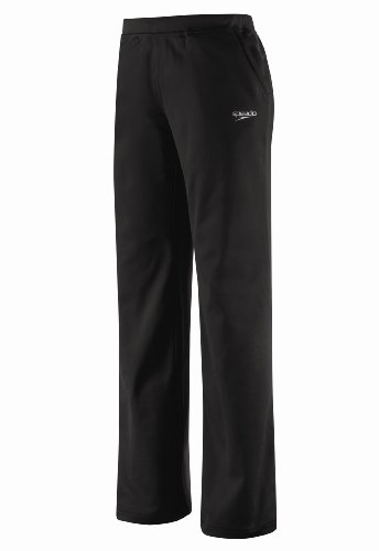 Speedo Womens Female Sonic Warm-Up Pant, Navy, (Speedo Warm Ups)