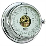 Weems and Plath Endurance II 135 Open Dial Barometer, Chrome