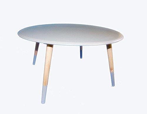 Beistelltisch Couchtisch rund Ø70 weiss/grau 1530652 B Ware (grau)