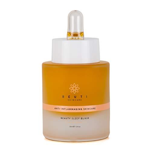 Beuti Skincare - Organic Beauty Sleep Elixir (1 oz | 30 ml) (30 Ml Super Moisture Makeup)