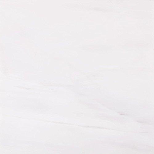 Marbletiledirect Bianco Dolomiti White Marble 6-inch x 18-inch x 3/8-inch Beveled Polished Tiles ()
