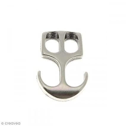 Fermoir ancre en métal - 29 mm Creavea