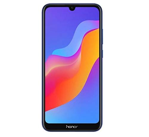 Honor 8A (32GB) 6.09'' HD+ Display, Dual SIM 4G LTE GSM Factory Unlocked Smartphone - International Version JAT-LX3 (Blue)