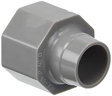 Dia Zurn  Qicktite  3//4 in CTS  Nut-Ring-Cone Set CTS   x 3//4 in