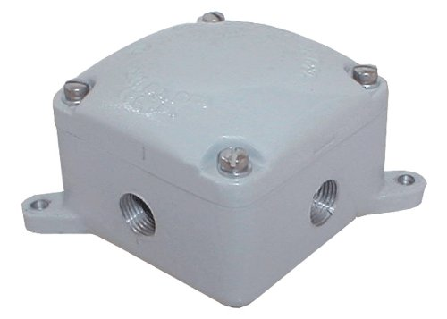 RAB EXB34 Explosion proof Junction Box 4 Hubs 34 Blank Cover by RAB Lighting