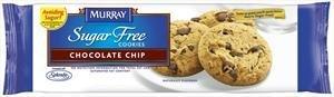 Murray, Sugar Free Cookies, Chocolate Chip, 5.5oz Bag (Pack of 4) (Murray Sugar Cookies Free)