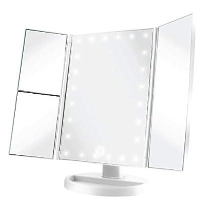 Amazon Com Vivitar Mr 1305 Wht Cordless Led Light Up Vanity
