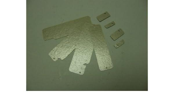 Maletero de techo de microondas: kit de placa de mica microondas ...