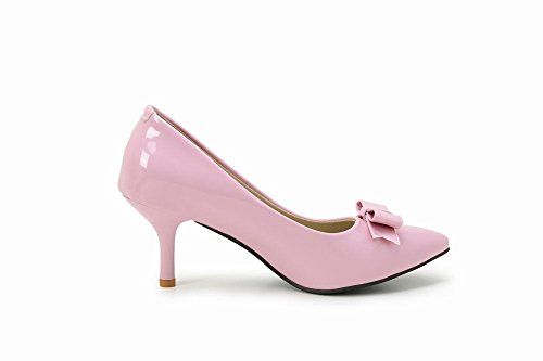 Chaussures Talon Pointu Arcs Chaton Mee Les Escarpins Rose Haut Femmes Orteil w881x