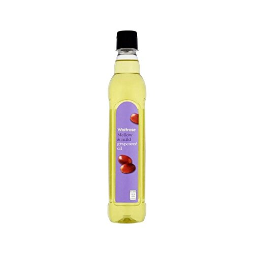 Grapeseed Oil Waitrose 500ml - Pack of 6 by WAITROSE