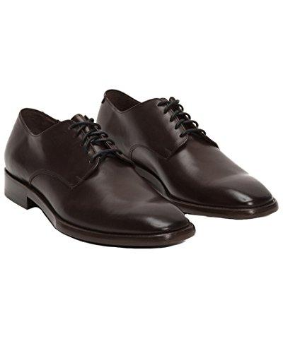 Frye Dark Calf Veg Brown Oxford Smooth Westley Men's Shoes TZBnCwxrTq