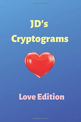 Pdf Entertainment JD's Cryptograms: Love Edition