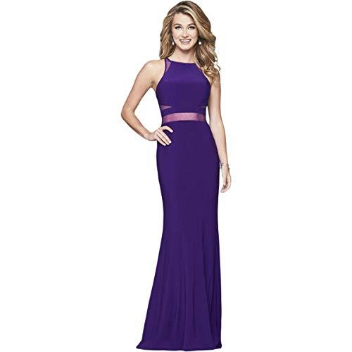Faviana Womens Prom Full-Length Evening Dress Purple 2