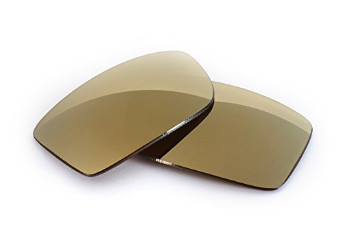 FUSE Bronze Mirror Tint Replacement Lenses for Oakley Tightrope