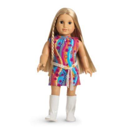 Groovy Girls Doll Clothing - American Girl Julie Funky Flower Dress