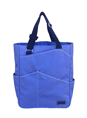 (Maggie Mather Tennis Tote, Travel Tote (Iris))
