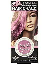 Splat Hair Chalk, Dusty Rose 3.50 grams (Pack of 4)