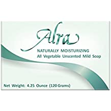 Alra Specialty Skin Care for Cancer Patients – All Natural Vegetable pH Balanced Body Soap – Soothe and Calm Sensitive Skin During Radiation and Chemotherapy Treatment