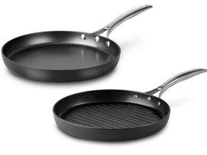 Calphalon Unison Nonstick Nonstick Grill Pan and Griddle Set 2-pc.