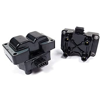 Set of 2 Land Rover Ignition Coils ERR6045 for Discovery 2 and Range Rover P38