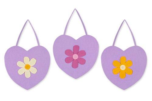 Daisies Crib Danielles (Sweet Jojo Designs Wall Hanging - Danielle's Daisies)