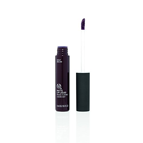 The Body Shop Matte Lip Liquid, Sicily Iris, 0.2 Fluid Ounce