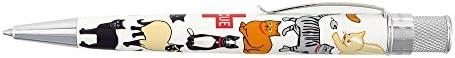 Retro Rescue Cat Ballpoint Pen