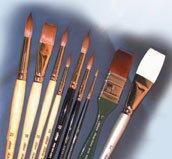 Silver Brush EK-930S Everett Raymond Kinstler Watercolor Brush Set, 9 Per Pack by Silver Brush Limited
