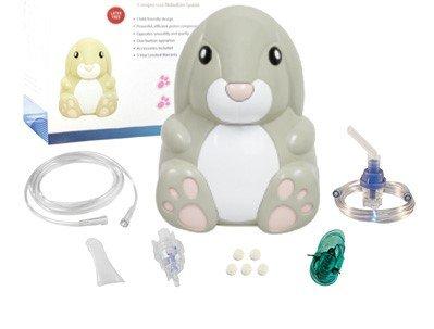 Nebulizer Aerosol Mask - Pediatric Compressor Bunny Themed for Children