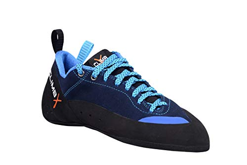 Climb X Crush Lace - Blue - 2019 Rock Climbing/Bouldering Shoe (12.5)