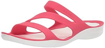 Crocs Women's Swiftwater Sandal, Lightweight and Sporty Sandals for Women