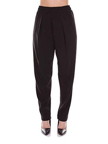 Pantaloni Cotone Sportmax Nero Donna 31310781black qpBBw16x