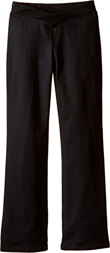 Bloch Girl's V-Front Comfort Jazz Pants 8-10 Black