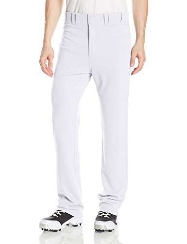 Easton Baseball Jersey - EASTON RIVAL 2 Baseball Softball Pant | Adult | Medium | White | 2020 | Double Reinforced Knee | Elastic Waistband w/ 2 Color Internal Easton Logo | 2 Batting Glove Pockets | 100% Polyester