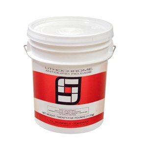 L. M. Scofield - Lithochrome Antiquing Release - 25 Pound Pail (Deep Charcoal) - Odorless, High-performance, Colored, Powder Stamp Tool Release - By L.m. Scofield