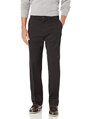 Dockers Men's Classic Fit Easy Khaki Pants D3, Black (Stretch), 32 32 from Dockers